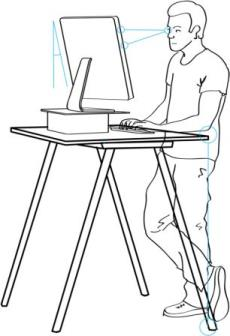 Six Tips to Use a Standing Desk