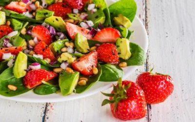Avocado Strawberry Caprese