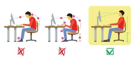 Tips to Sitting Up Straight